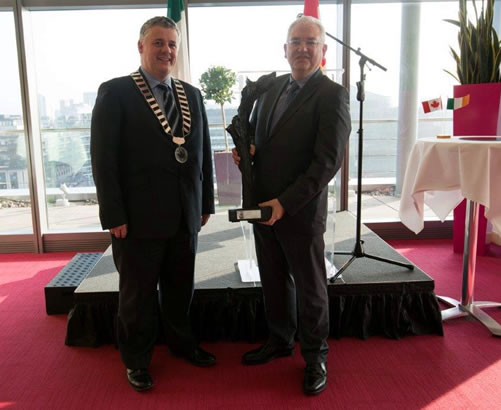 DAA receives inaugural Contribution to Ireland Canada Business Relations Award 2015